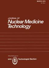 Journal of Nuclear Medicine Technology: 7 (1)