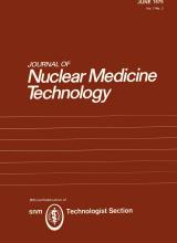 Journal of Nuclear Medicine Technology: 7 (2)