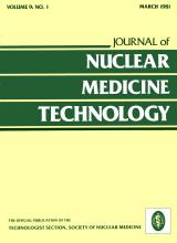 Journal of Nuclear Medicine Technology: 9 (1)